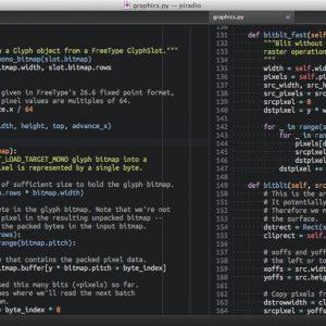 editores de código