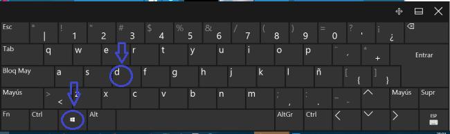 atajos de teclado