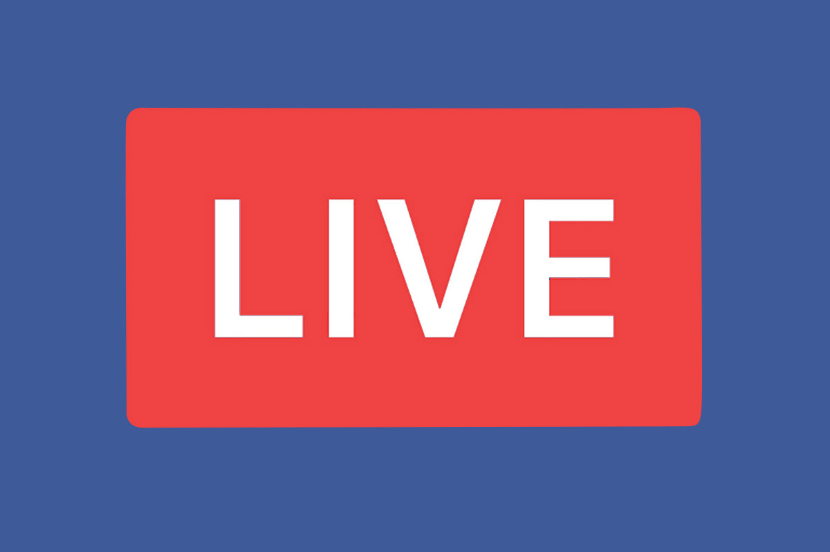 facebook live crossposting