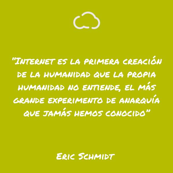 frases de informatica Eric Schmidt