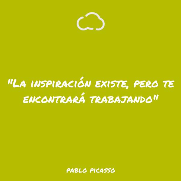 frases de informatica Pablo Picasso