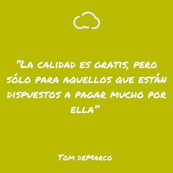 frases de informatica Tom DeMarco