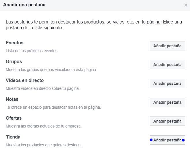 tutorial tienda en facebook 3