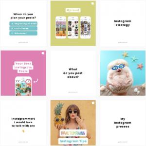 organizar feed de instagram